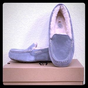 6f7fd3bf8df UGG Ansley Slipper water resistant suede & wool